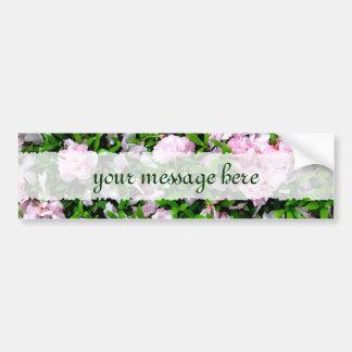 sakura petals bumper sticker