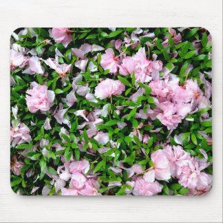 sakura petals mouse pads