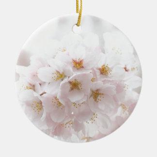 sakura round ceramic decoration