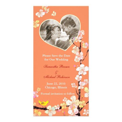 Sakura: Save the Date Wedding Photo Cards