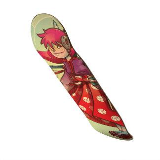 sakura skateboard deck