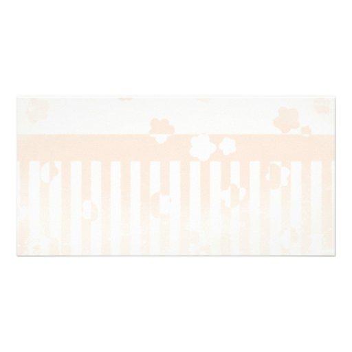 Sakura Stripes Photo Card