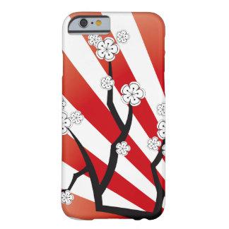 Sakura Sunrise White Cherry Blossoms iPhone Case