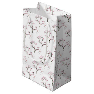 sakura tree and birds tony fernandes small gift bag