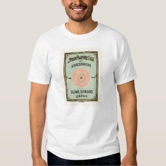 Sakura Vintage Japanese Silk Label Tshirts