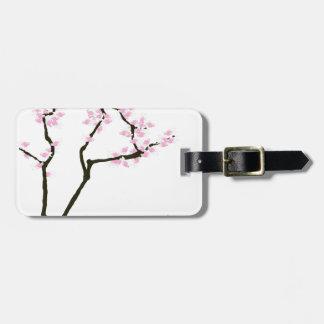 sakura with pink goldfish, tony fernandes bag tag