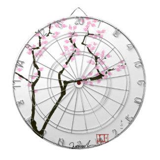 sakura with pink goldfish, tony fernandes dart boards