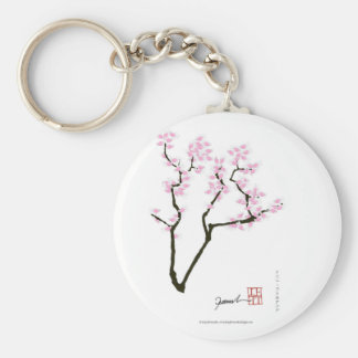 sakura with pink goldfish, tony fernandes key ring