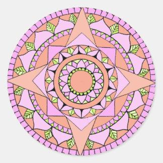 Sakuraa. Round Sticker