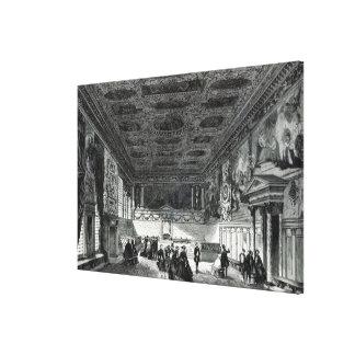 Sala del Maggior Consiglio Gallery Wrap Canvas