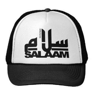 Salaam black trucker hat