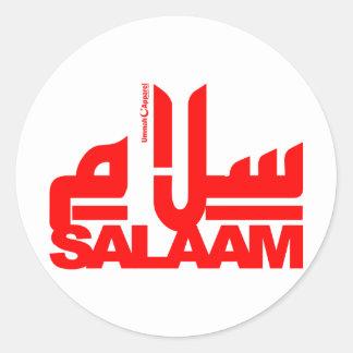 Salaam Round Sticker