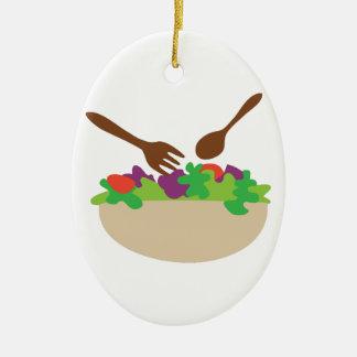 Salad Bowl Christmas Ornament