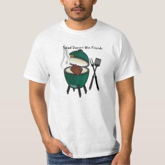 Salad Doesn't Win Friends, The Big Green Egg T-Shirt