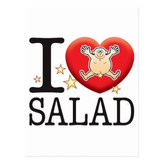 Salad Love Man Postcard