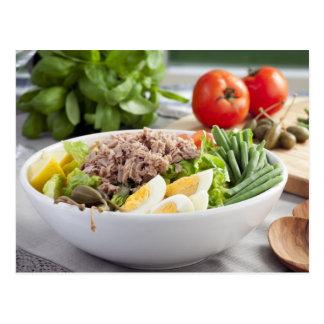 Salad Nicoise Postcard