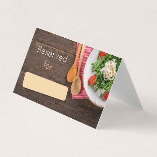 Salad Place Card