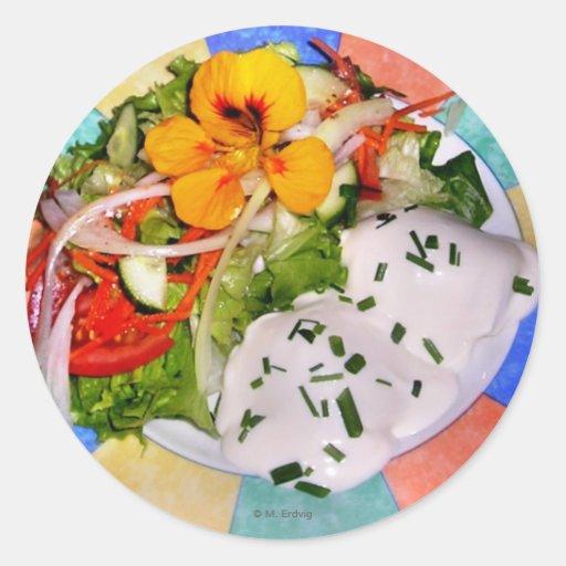 Salad Plate Sticker