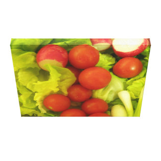 Salad Vegetables Canvas Print