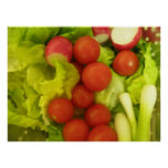 Salad Vegetables Print