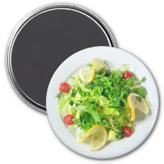 Salad with Lemons and Tomato Refrigerator Magnet