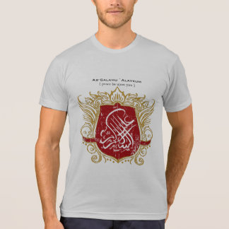 Salam Islamic Shield T-shirts