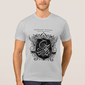 Salam Islamic Shield T Shirts