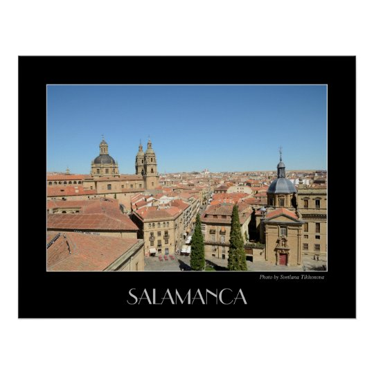 Salamanca, Spain Poster