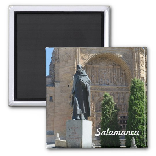 Salamanca, Spain Square Magnet