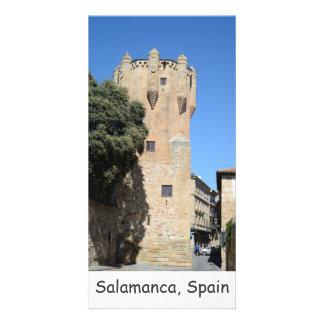 Salamanca, Spain. Tower del Clavero Photo Greeting Card