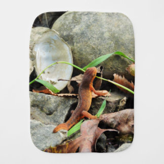 Salamander Baby Burp Blanket
