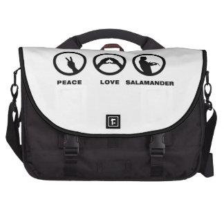 Salamander Lover Laptop Messenger Bag