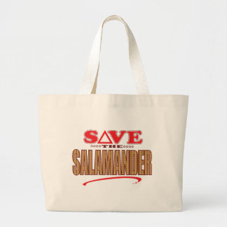 Salamander Save Large Tote Bag