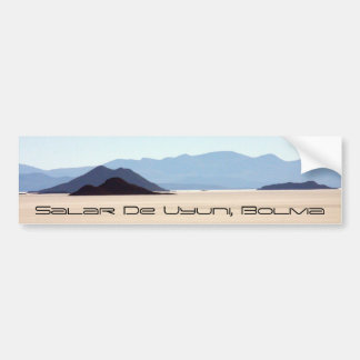 Salar de Uyuni Bumper Sticker