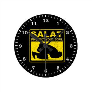 Salat Protect Your Soul Wallclocks