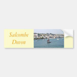 Salcombe, Devon Bumper Sticker
