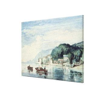 Salcombe, Devonshire Canvas Print