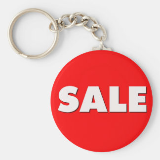 Sale Basic Round Button Key Ring