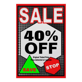 SALE Business Sign/poster template