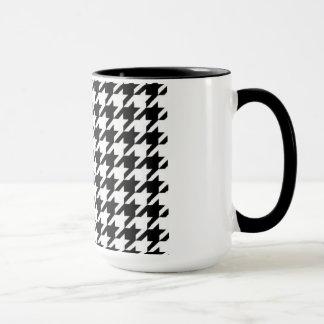 SALE - HOUNDSTOOTH COFFEE MUG