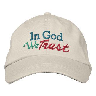 SALE - IN GOD We Trust - Wear it with Pride Baseball Cap