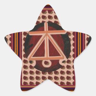 Sale Karuna Reiki Healing Symbol art Gifts Star Sticker