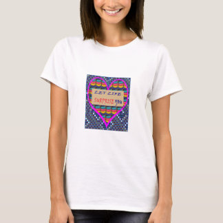 SALE  Life Surprise Wisdom Quote Artistic shirts
