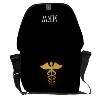 SALE! Medical Caduceus Rickshaw Bag Courier Bag