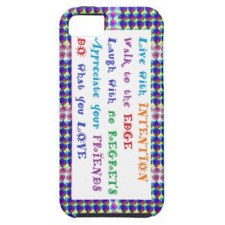 SALE phone cases Elegant Border Wisdom Quores Tough iPhone 5 Case
