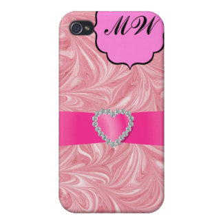 SALE! Pink Bling - SRF Cases For iPhone 4