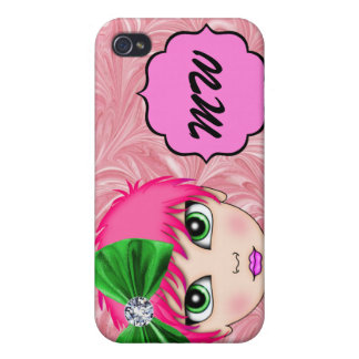 SALE! Pink Diva Bling - SRF iPhone 4/4S Case