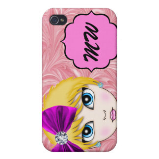 SALE! Pink Diva Bling - SRF iPhone 4/4S Cover