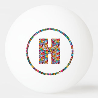 SALE PRICE ALPHABET ART HHH H HH 3* Ping Pong Ball