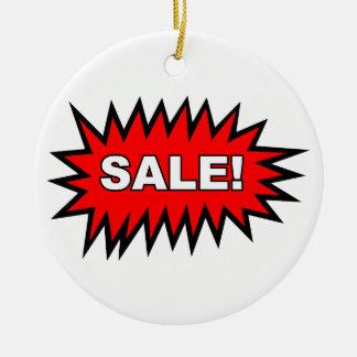 Sale Round Ceramic Decoration